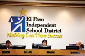El Paso ISD trustees, in happier times
