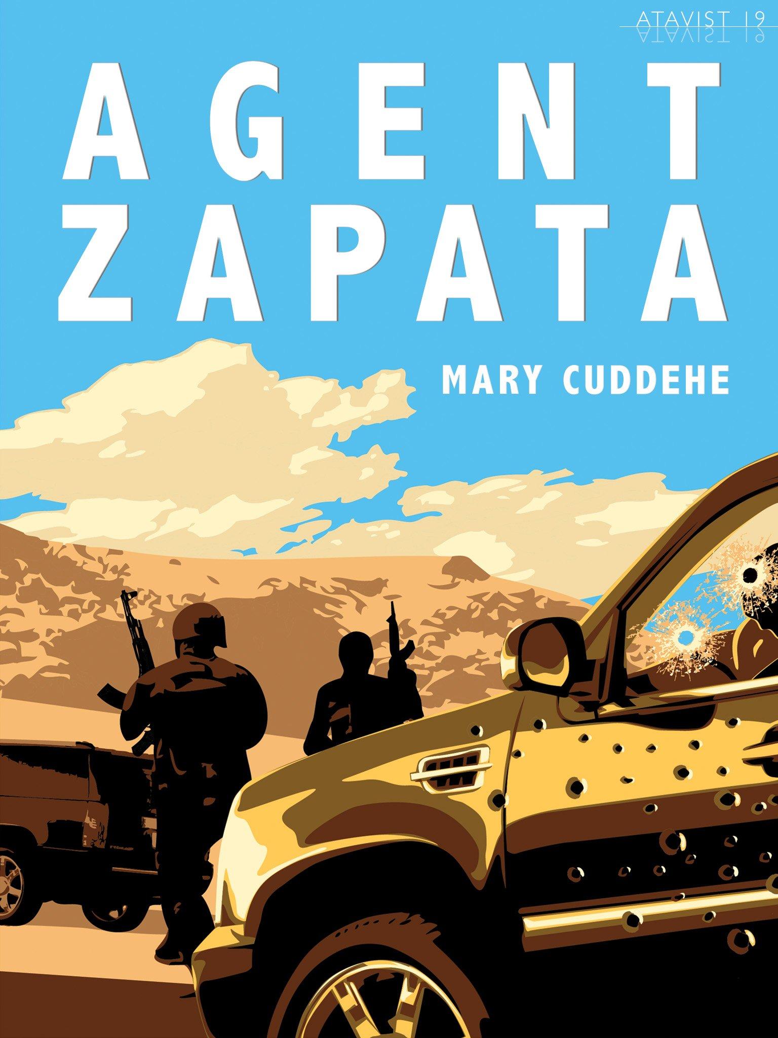 Agent Jaime Zapata Cover Illustration