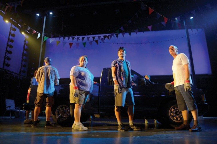 Hands on a Hardbody, a musical adaptation of the cult-classic documentary film, ran at San Diego's La Jolla Playhouse in a production directed by Neil Pepe last summer.