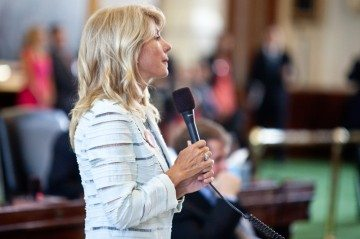 Sen. Wendy Davis (D-Fort Worth).