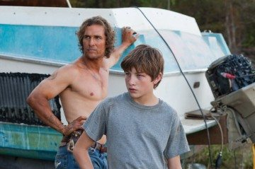 Matthew McConaughey and Tye Sheridan star in Jeff Nichols' Mud.