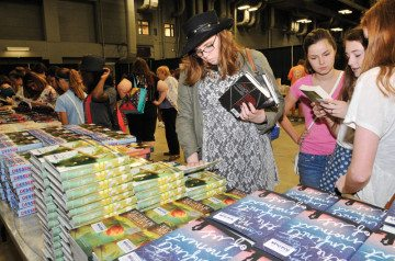 Austin Teen Book Festival, Sept. 28, at the Austin Convention Center.