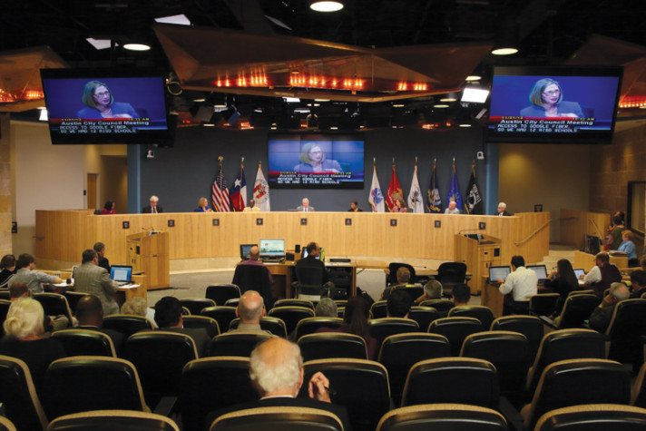 Austin City Council meeting, November 21, 2013.