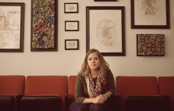 Jenn Hassin, photographed at her studio at Big Medium in Austin.