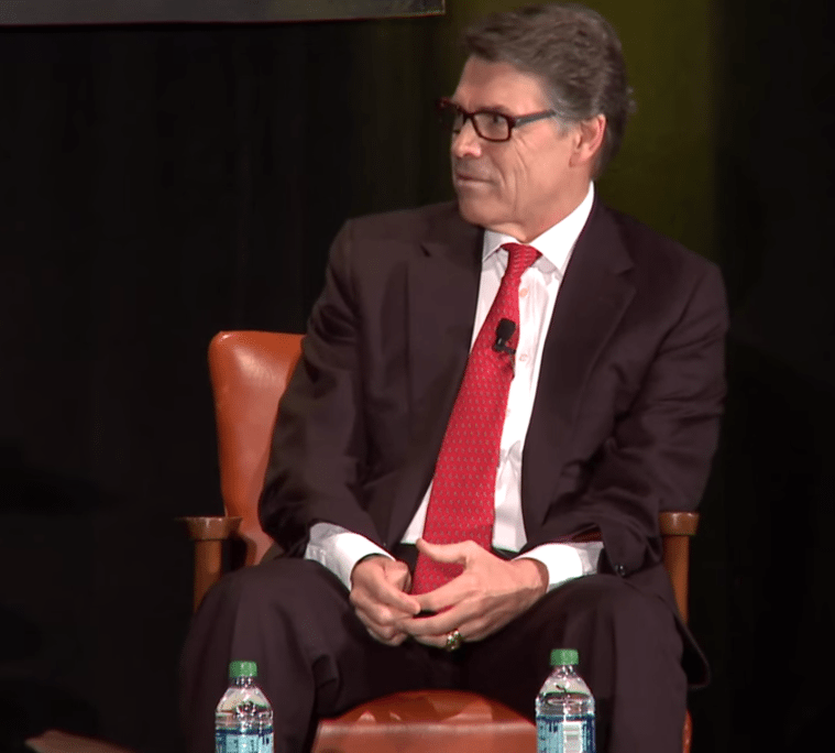 Rick Perry at the 2014 Texas Tribune Festival