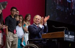 Greg Abbott and family