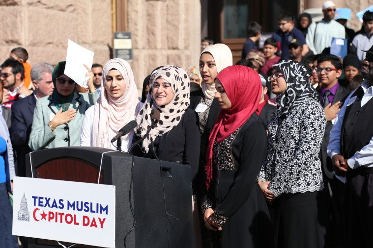 Students from Houston Quran Academy.