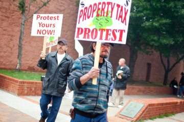 Big Spring homeowners protest rising home appraisals