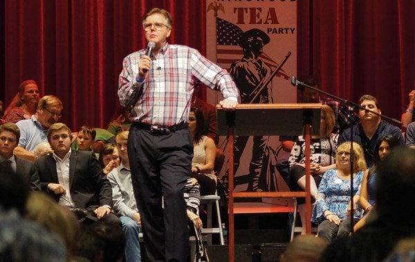 Kingwood tea party rally