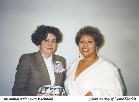 The author with Laura MacIntosh