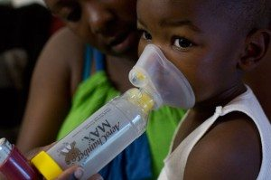 Latricia Jones' son Dre'vyon needs daily breathing treatments to relieve his chronic asthma