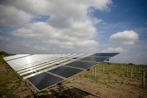 Duke Energy's 14-megawatt Blue Wing Solar Project in San Antonio.