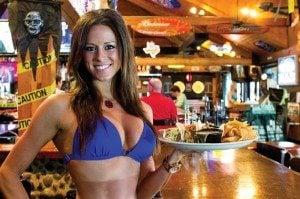 Bikinis employee Whitney Bell.