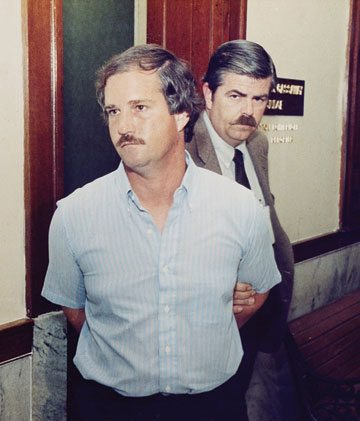 Ed Graf at his 1988 trial.