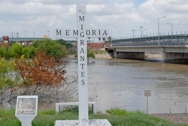 A Memorial for Migrants in Reynosa, Mexico