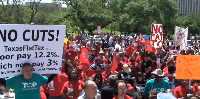 Save Our State Texas rally