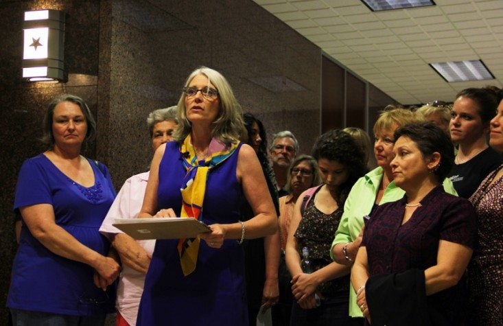 Hundreds testify against bills that would restrict abortion in Texas.