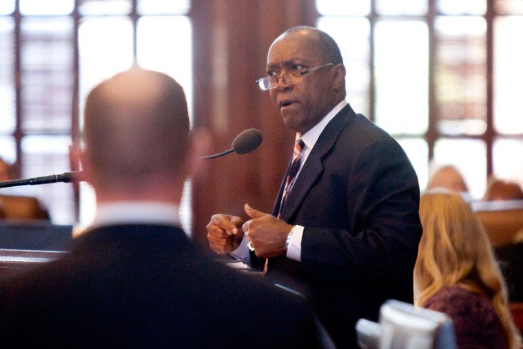 Houston Republican Rep. Sylveser Turner dares the Republican leadership to accept his amendment to House Bill 2--allocating state money to upgrade abortion facilities to surgical center standards--promising he'll vote for the bill if they do.