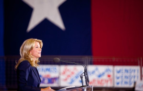 Wendy Davis speaking