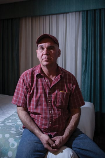 Darrell Otto, 54, lives alone in Canada's Yukon Territory and teaches courses on natural resources at a small college. He exchanged letters with Elizabeth Ramirez and convinced reporters and activists to look into the case of the San Antonio Four.