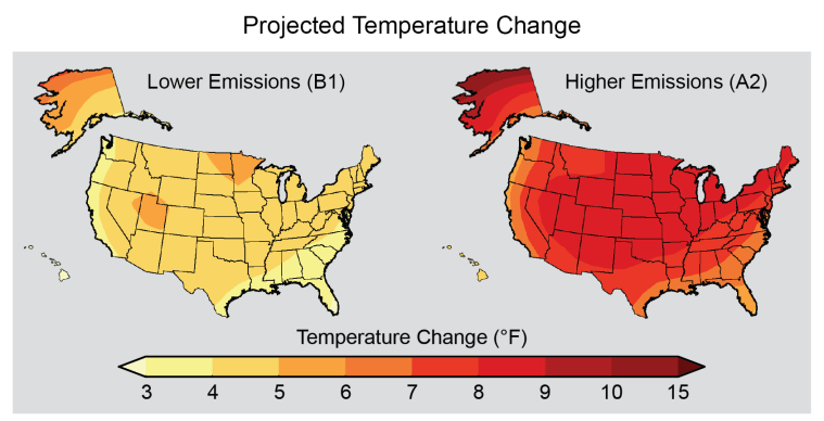 climate CS_projected_temperature_change_sres_V7