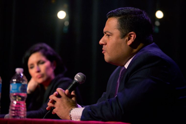 State Rep. Jason Villalba (R-Dallas) and Texas Monthly senior editor Erica Grieder