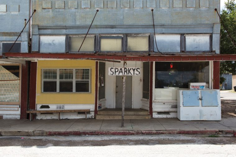 Sparky's on Broadway Street is one of two remaining taverns in Nordheim.
