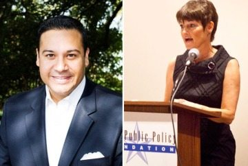 State Rep. Jason Villalba (R-Dallas) and state Sen. Donna Campbell (R-New Braunfels)