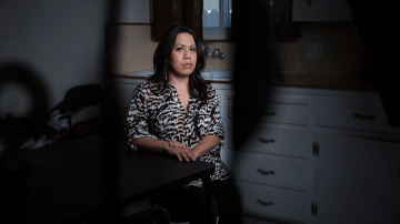 After being attacked by a gang in Mexico, Nydia returned to the United States, where she had asylum status. Immigration officers ordered her deported anyway.