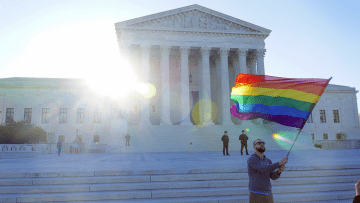 The U.S. Supreme Court heard oral arguments on same-sex marriage on Tuesday, April 28.
