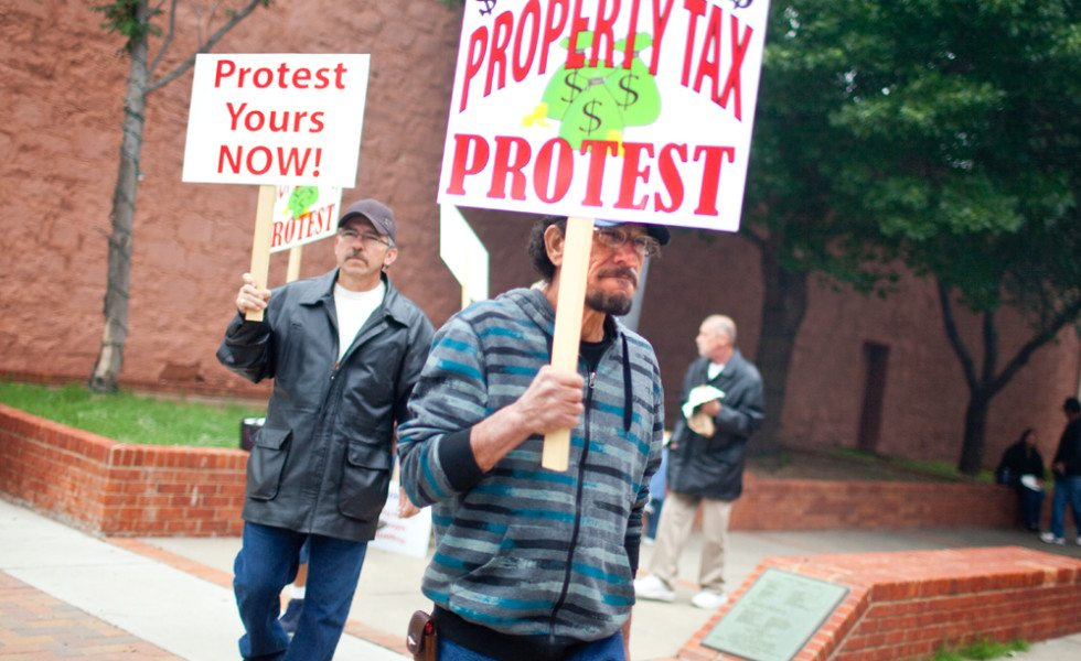 Big Spring homeowners demonstrated in May against an appraisal hike that raised taxes on the town's lowest-valued homes.