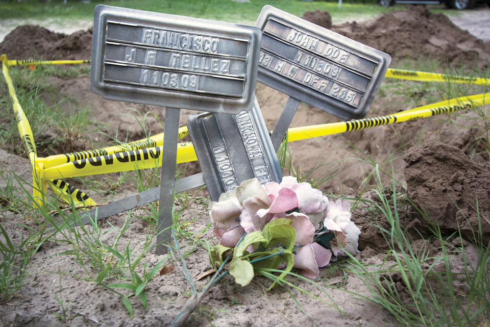 Migrant Mass Graves in South Texas May Violate Law