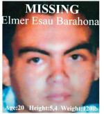 Elmer Barahona Iraheta — missing persons