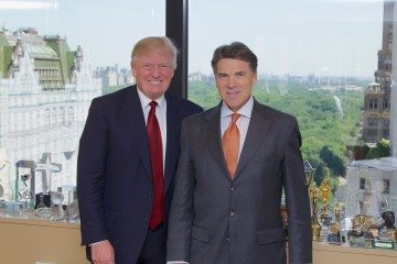 Donald Trump and Rick Perry