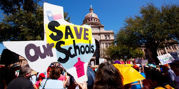 Save Our Schools rally