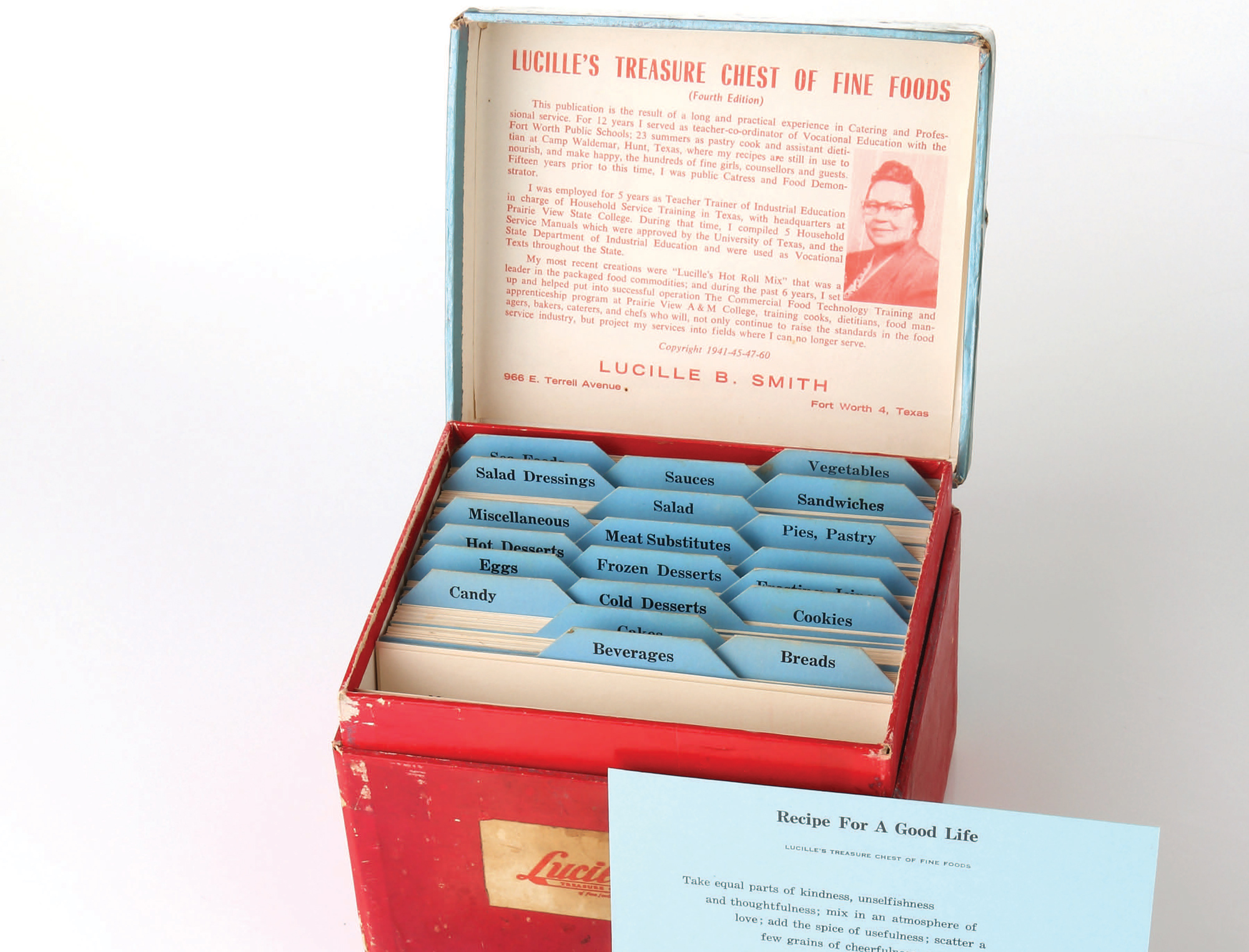 A photo of 'Lucille's Treasure Chest of Fine Foods.'