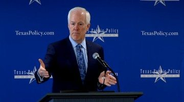 Senator John Cornyn speaks at the Crossroads Summit.