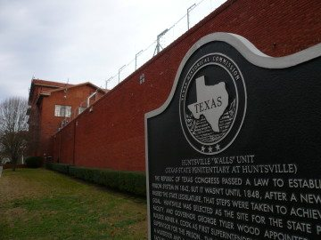 huntsville walls unit death row capital punishment