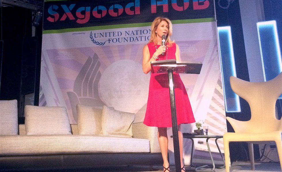 Former Texas state Senator Wendy Davis launched her new venture, Deeds Not Words, during the tech-heavy SXSW Interactive festival in Austin on Monday. She said the project is aimed at empowering millennial women to effect social and economic change.