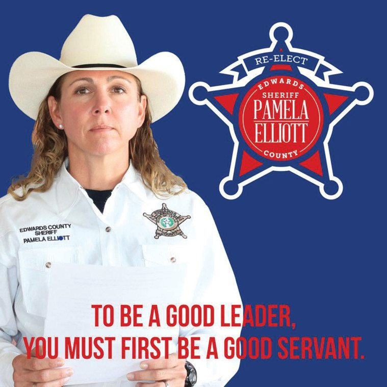 An image from Sheriff Elliott's reelection campaign.
