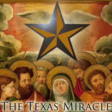 The Texas Miracle podcast logo - filibusterversary wendy davis HB 2 filibuster
