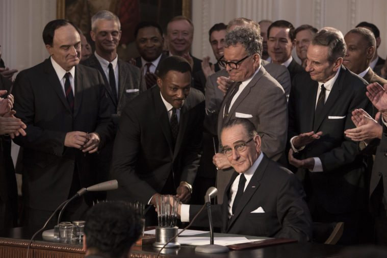 In All the Way, Bryan Cranston delivers a kinder, gentler Lyndon B. Johnson.