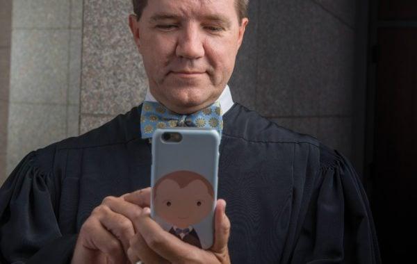 Texas Supreme Court Justice Don Willett, social media's tweetingest judge.