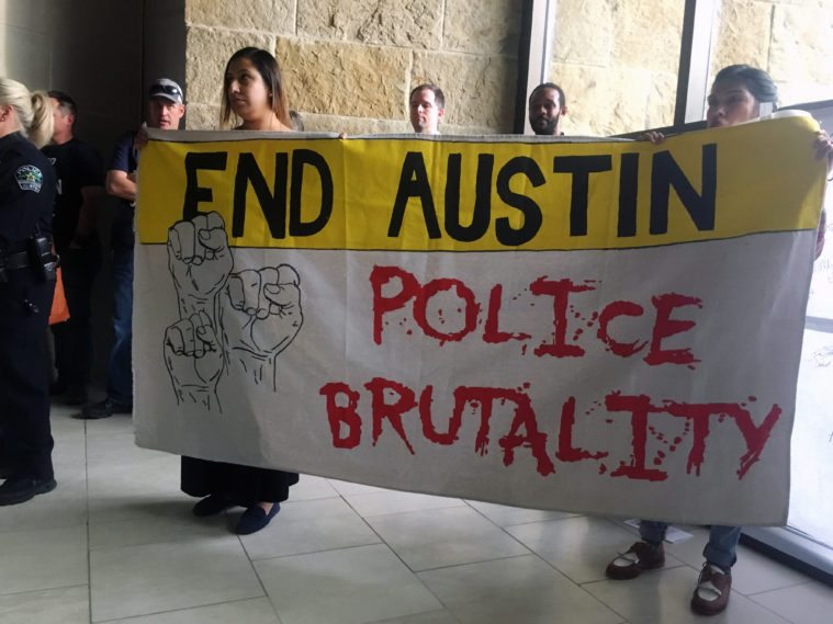 Austin City Council rejected a police contract late Wednesday night.