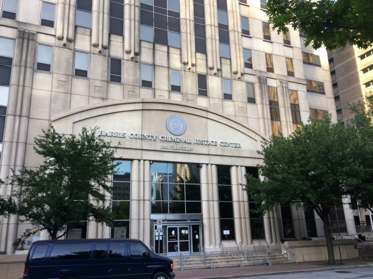 The Harris County Criminal Justice Center.