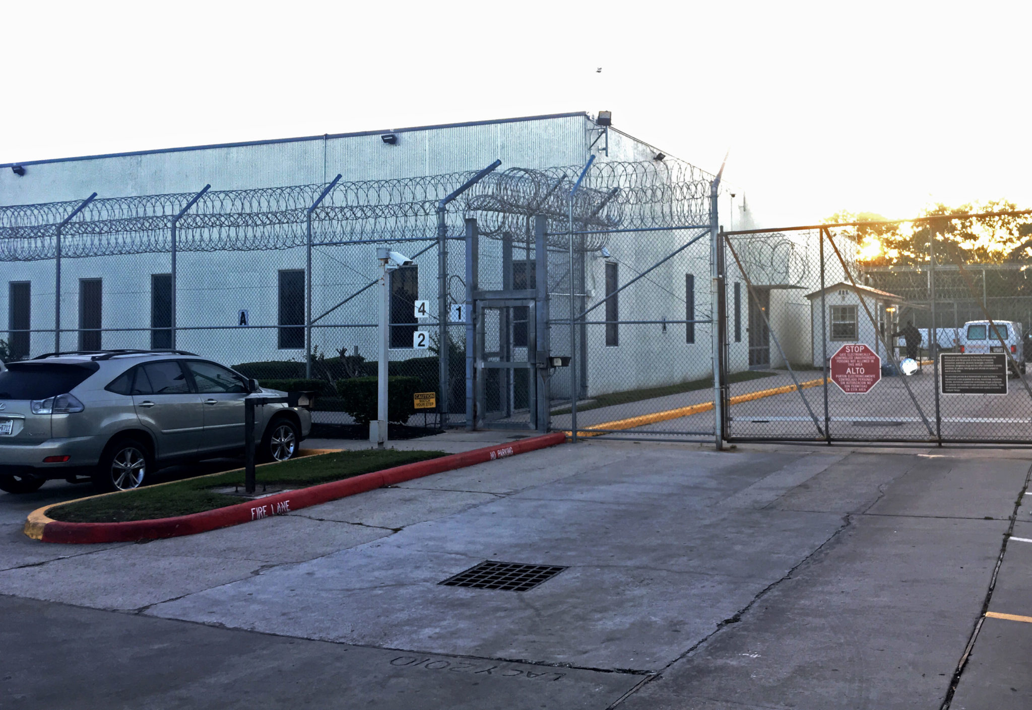 The 1,000-bed Houston Contract Detention Facility.