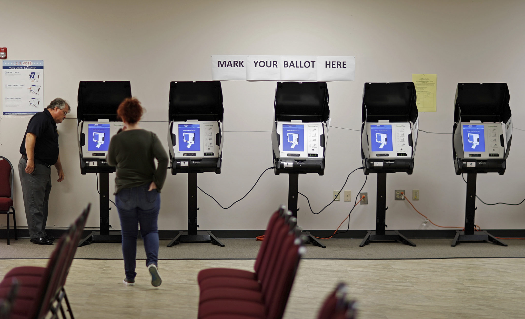 More than 200 of Texas' 254 counties still need to replace their voting machines and it appears unlikely that all will be able to do so in time for the next presidential election.