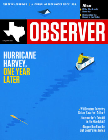 March 2015, Texas Observer cover