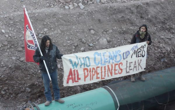 pipeline, protest, big bend, critical infrastructure
