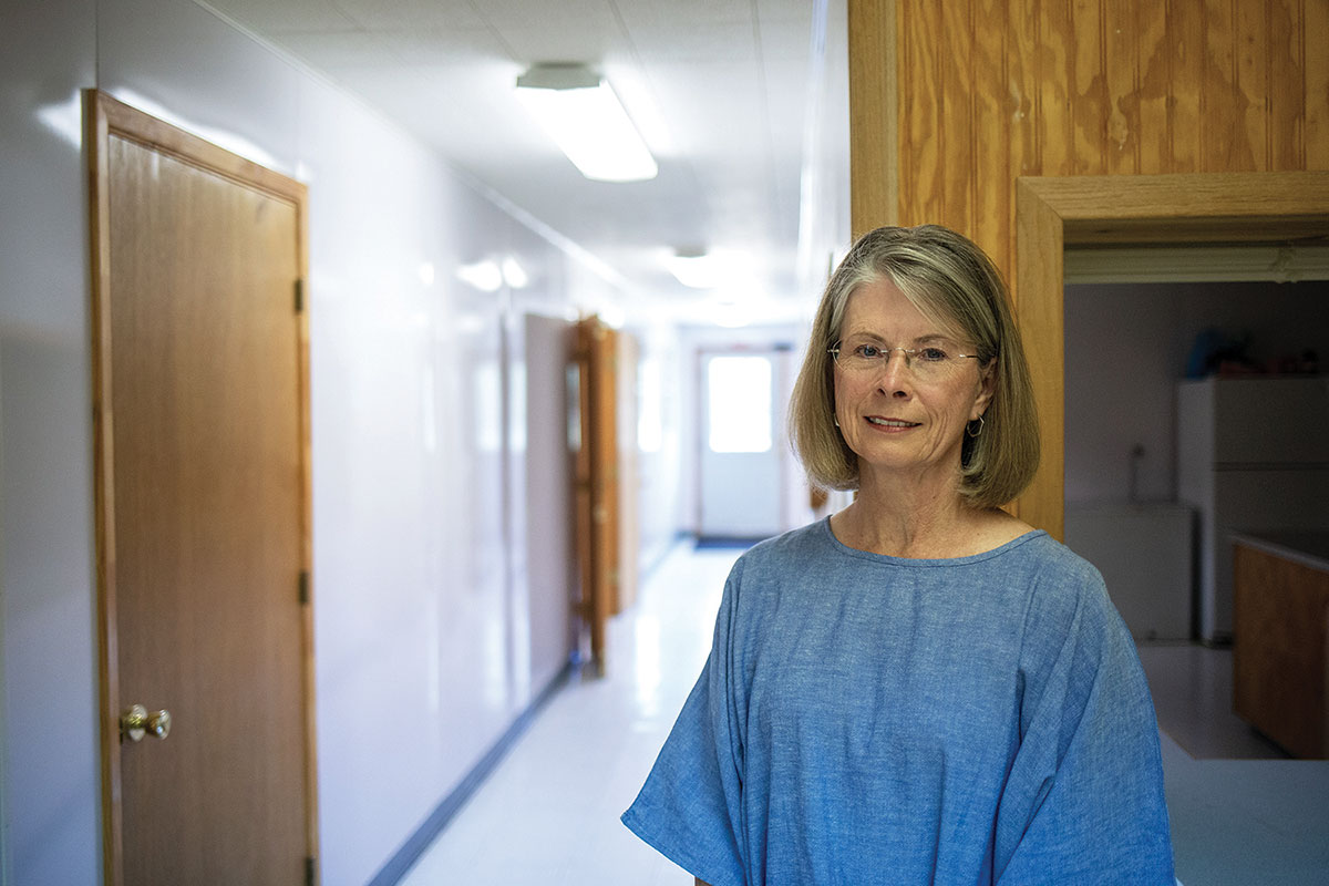 Carole Ward, a former nurse practitioner, ran the Memphis health clinic until she retired in 2017.